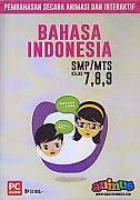 CD PEMBELAJARAN SMARTEDU SMP/MTS BAHASA INDONESIA Kelas 7,8,9 | Toko Buku Rahma