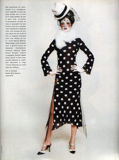 John Galliano: La Mode Comme Un RomanGlamour France, February 1994Photographer: Paolo RoversiJohn Galliano, Spring 1994