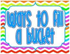 Bucket Filler Bulletin Board Pack! $