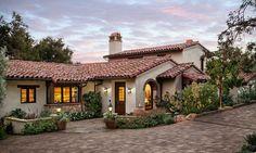Lovely Santa Barbara home interior design Mediterranean Exterior Santa Barbara