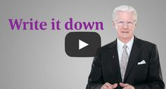 Bob Proctor Says Write It Down... Change your perspective and the results in your life will change. Take a few minutes and try this out today. #motivationmonday #bobproctor