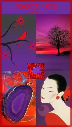 '' Purple & Red '' by Reyhan Seran Dursun