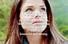 #The100 - #OctaviaBlake