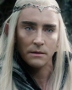 #LeePace as #Thranduil in The Hobbit: The Battle of the Five Armies.