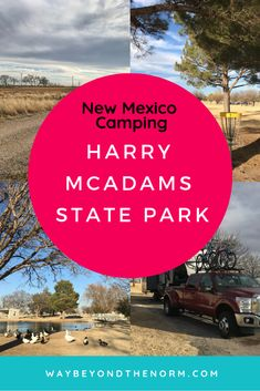 Harry McAdams State Park is a hidden gem in the small town of Hobbs, NM. If you'll be traveling through the area and need a place to camp for a night or a week, you'll be happy with your decision to stay at this small state park. Rv Travel, Family Travel, Travel Destinations, Travel Advice, Outdoor Travel, Travel Tips, New Mexico Camping, Travel New Mexico, University Of The Southwest