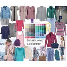 kleuren voor het koele zomertype