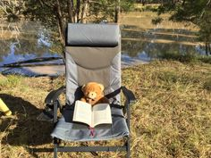 Marly enjoying the camping life. www.marlystravels.com