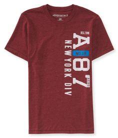 f68218df4b2d4 A87 New York Vertical Logo Graphic T - Aéropostale® Caras