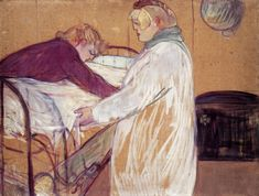 Henri de Toulouse-Lautrec Two Woman Making the Bed 1891