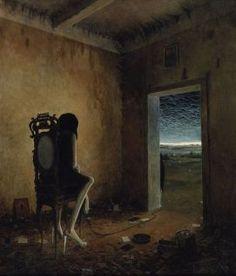 Kai Fine Art is an art website, shows painting and illustration works all over the world. Arte Horror, Horror Art, Arte Obscura, Macabre Art, Creepy Art, Pop Surrealism, Gothic Art, Surreal Art, Dark Art