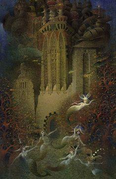çizgili masallar (great blog for children's book illustration): Gennady Spirin (his art is exquisite!)