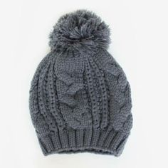 This hat is so soft and cozy in person!