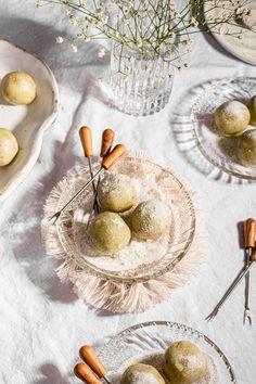 Mache Recipe (Buko Pandan Rice Balls)