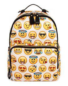 Emoji Pattern Backpack                                                                                                                                                                                 Más