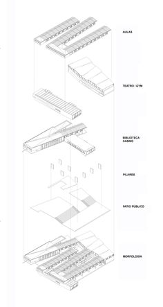 Gallery of Mariano Latorre Lyceum / Macchi - Jeame - Danus & Boza - Boza - Labbé - Ruiz Risueño - 13 Urban Fabric, School Architecture, Gallery, Photography, Mariana, Architecture, Hipster Stuff, Photograph, Roof Rack