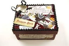 Putting together a prayer box