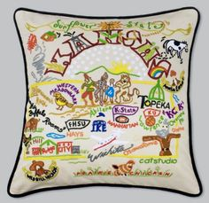I don't need tons of pillows, but it would be cool to have one of every state I've lived in