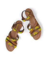 Colourblock Sandal (Tan Bead)