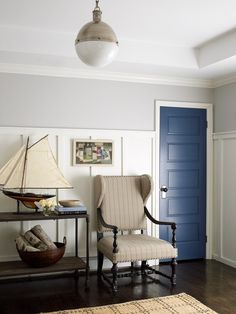 East Hampton cottage, NY. Designer Joshua Smith, NYC.