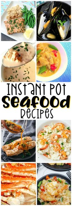 25 Instant Pot Seafood Recipes That Will Make Your Heart Swim With Joy – Gesundes Abendessen, Vegetarische Rezepte, Vegane Desserts, Appetizers For A Crowd, Seafood Appetizers, Seafood Recipes, New Recipes, Fish Crockpot Recipes, Seafood Platter, Cheese Appetizers, Party Appetizers, Delicious Recipes