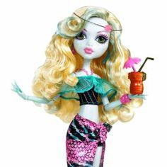 Mattel W9182 - Monster High Beach Lagoona, Puppe: Amazon.de: Spielzeug