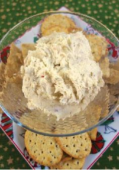 Italian Cream Cheese Spread – The best part about this cheese spread is that it only has 3 ingredients!