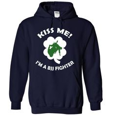Kiss me - I am a BJJ fighter
