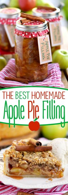 The BEST Homemade Apple Pie Filling + $150 Gift Card Giveaway