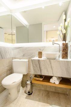 Banheiro piso Portobello Eucalipto Autoclavado