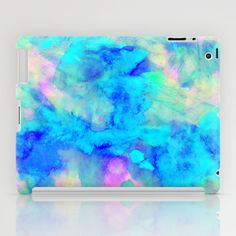 Electrify Ice Blue iPad Case + free shipping till 12/1/2014 via this link: http://society6.com/AmySia/Electrify-Ice-Blue_iPad-Case?promo=c799a9#20=149