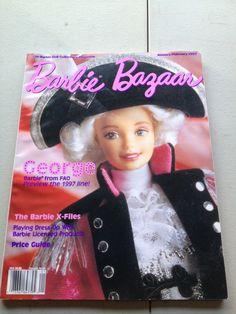 Barbie Bazaar Magazine Doll January February 1997 George X-Files in Muñecas y osos, Muñecas, Barbie contemporánea (1973 - presente), Libros y revistas | eBay