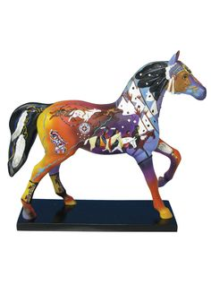 The trail of painted ponies figure on livingExclusive