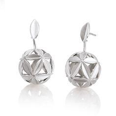 Sterling silver Breuning earrings