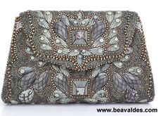 Beaded Bag by Bea Valdes