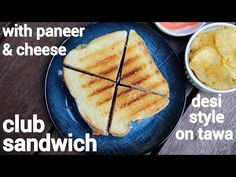 club sandwich recipe, how to make indian style veg club sandwich with step by step photo/video. indian street food sandwich with layers of bread slices. Pinwheel Sandwiches, Gourmet Sandwiches, Sandwiches For Lunch, Delicious Sandwiches, Corn Sandwich, Sandwich Bar, Grilled Sandwich, Club Sandwich Ingredients, Club Sandwich Recipes