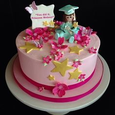 Graduation+Cakes+for+Girls | Girl's Graduation Cake