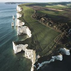 These cliffs were formed around 60 million years ago and thought to connect the Isle Of Wight to the UK! Photo by @paul.watson.photography Share your story: #roamtheplanet