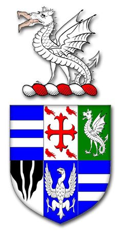 Venables Baron of Kinderton ; Cheshire Heraldry - The Armorial Bearings of the Cheshire Visitations