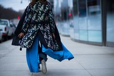 New York Fashion Week Fall 2016 Street Style, Day 7 - -Wmag