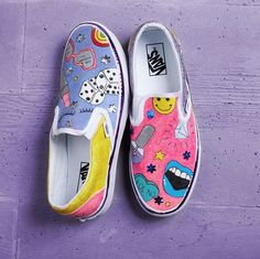 Shoes by 2018 Vans Custom Culture Ambassador, Violet Clair.