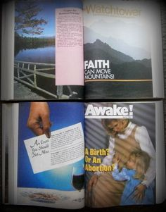 WATCHTOWER AND AWAKE BOUND VOLUME 1985 originals JW.Org,Jehovah