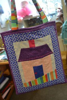 for liz - book bag
