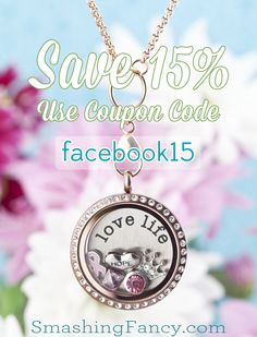 Save 15% on your next order at smashingfancy.com!  Use coupon facebook15 at checkout.  Hurry, this is only valid through the end of February!