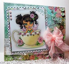 Faeries, Card Making, Princess Zelda, Sweet, Amanda, How To Make, Stamps, Cards, Fictional Characters