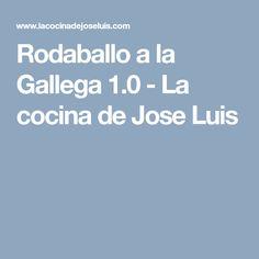 Rodaballo a la Gallega 1.0 - La cocina de Jose Luis Cooking, Recipes