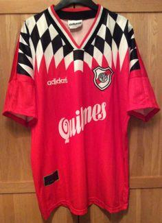 59fb7ce973e6d River-Plate-Ultra-Rare-1996-Away-Football-Shirt-Jersey-Camiseta-Trikot-L