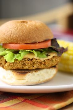 Gluten Free Veggie Burgers - I actually miss all of the veggie burgers I used to eat.  I'll have to try these...