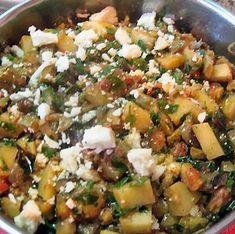 Egy finom Briami (görög zöldséges egytálétel) ebédre vagy vacsorára? Briami (görög zöldséges egytálétel) Receptek a Mindmegette.hu Recept gyűjteményében! Potato Salad, Potatoes, Vegetarian, Dishes, Ethnic Recipes, Food, Tablewares, Eten, Flatware