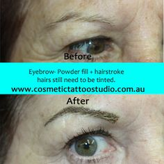 """cosmetic tattoo by Meredith at """"Forever Fabulous cosmetic tattoo studio"""" southwestern sydney"""