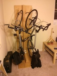 Not Built in a Day: Vertical Bike Rack